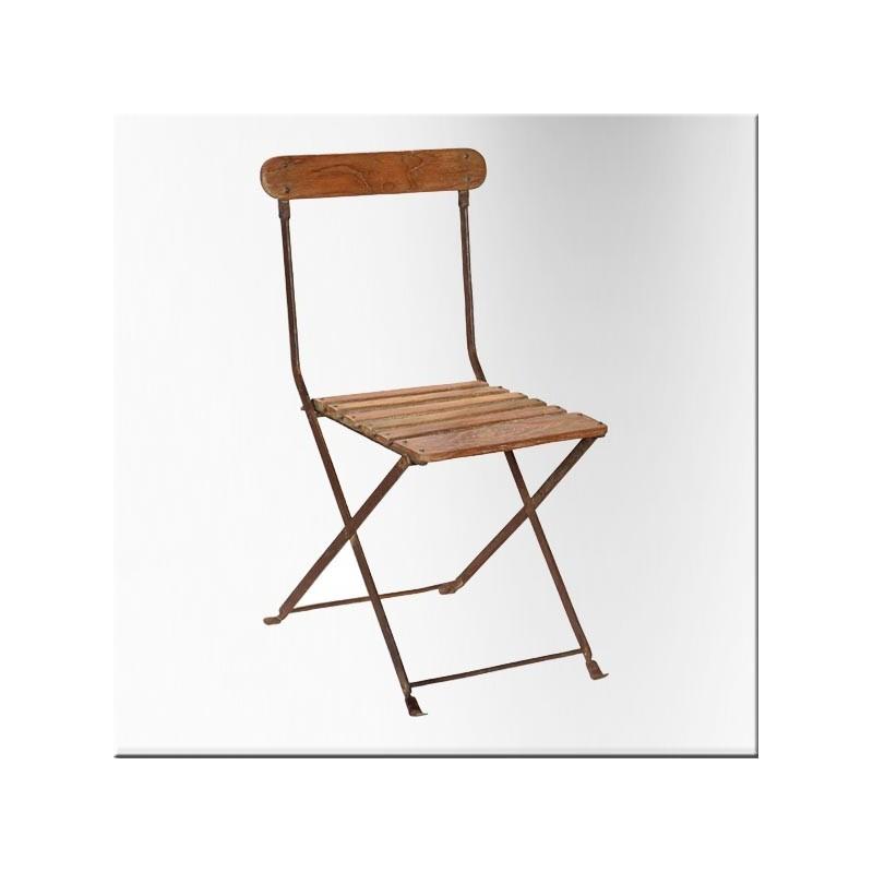 Vente de chaises for Chaise fer et bois