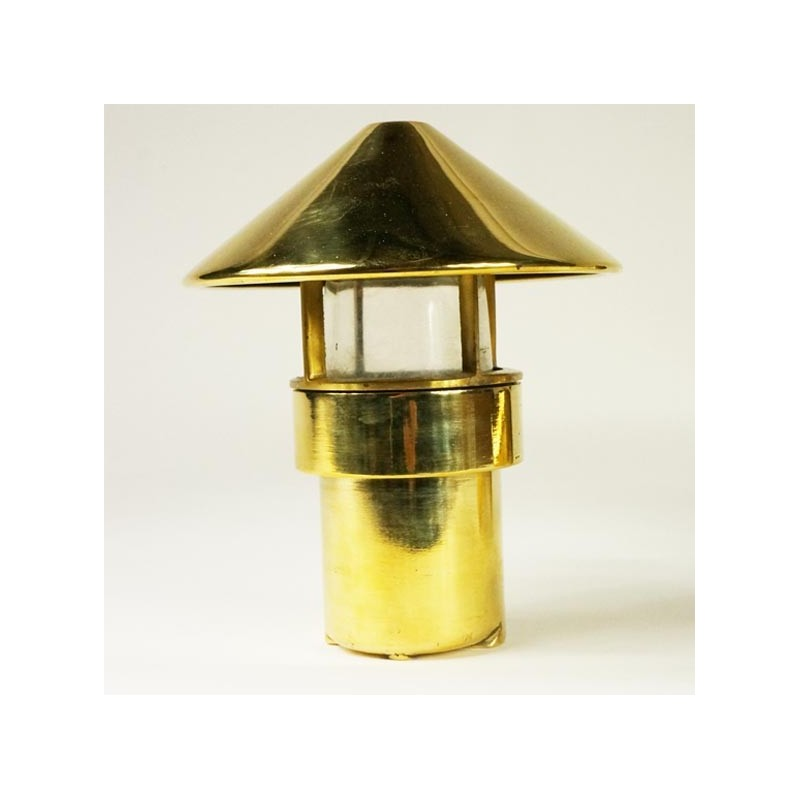 Brass small table lamp jdeco marine groupe jd production - Lampe kartell bourgie petit modele ...