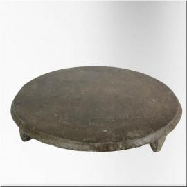 Base ronde en pierre