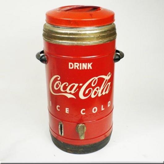 Bouteilles vintage de coca cola