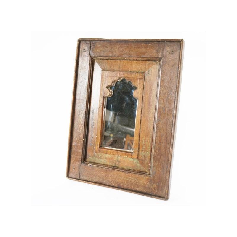 Vente de miroirs en bois for Miroir deco bois