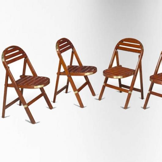 chaise-pliante-en-acajou-assise-et-dossier-a-lattes-.jpg - Chaise Bois Et Metal/2016 09 19t12:19:36z