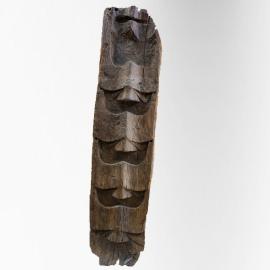 Panneau en bois sculpté Naga (grand modèle)