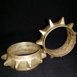 """Bracelets (paire de) fillette """"AZBI N'IQOURRAIN"""". Maroc."""