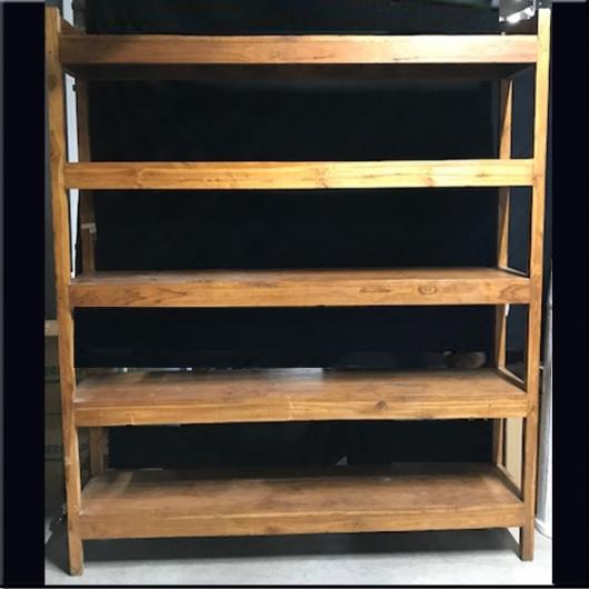 etag re en teck 5 niveaux jdeco marine groupe jd production. Black Bedroom Furniture Sets. Home Design Ideas