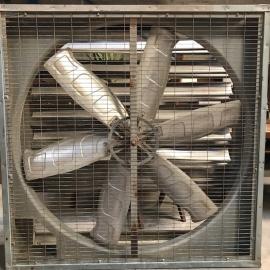 Ventilateur cage (grand modèle) en zinc 6 pales alu