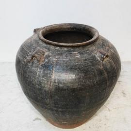 Jarre en terre cuite - Chine - XVIIème S.