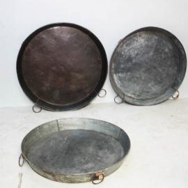 Plat rond en zinc (Grand modèle)
