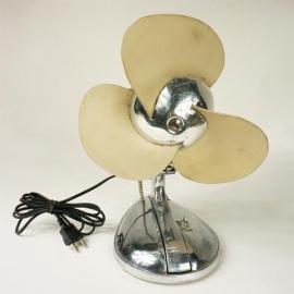Ventilateur en aluminium 3 pales caoutchouc (petit modèle)