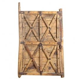 Yellow wooden door (small size)
