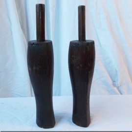 Wooden boots mould
