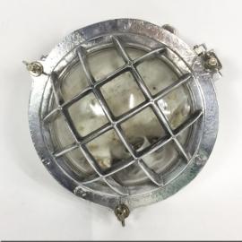 Aluminium porthole design lamp