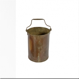 Brass bucket with handles