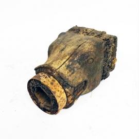 Tête de fontaine en bois