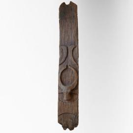 Panneau Naga en bois (très grand modèle)