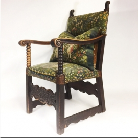 Armchair from Fribourg (Switzerland) end 17th C.