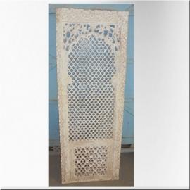 Fenêtre en pierre sculptée XVIIIème Mogol