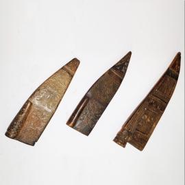 Carved knife case