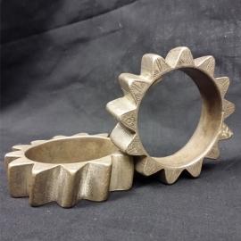 Bracelets (Paire de) en argent TAZA-CAP DES TROIS FOURCHES