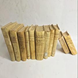 Vellum books 18th C.