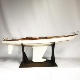 Maquette géante Yacht grande croisière
