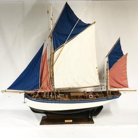 Maquette géante Iroise Thonier de Concarneau