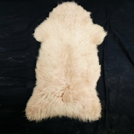 Natural cream-coloured sheep skins - Ovis Aries