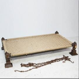 Lit 'charpoy' moghole XVIIIème siècle
