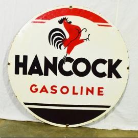 Enamelled plate 'HANCOCK'