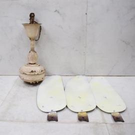 Ceiling fan cast iron 3 aluminium blades