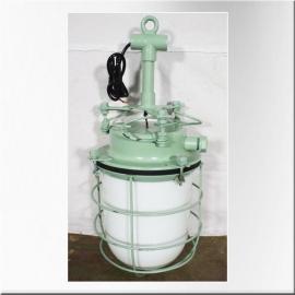 Lampe de coursive laquée vert