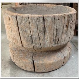 Mortier en bois (grand modèle)