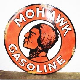 Enamelled plate 'MOHAWK'