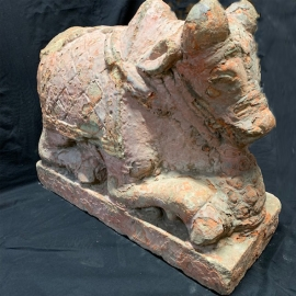 Nandi en granit XVII