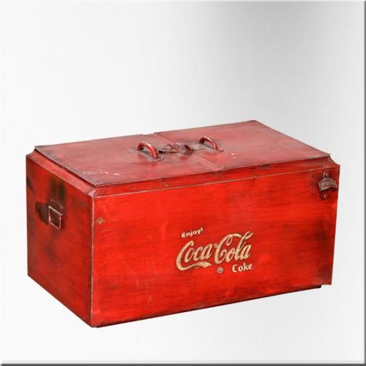 Glacière vintage double Coca-Cola