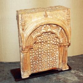Moucharabieh en marbre de Jaisalmer Début 19ème S.