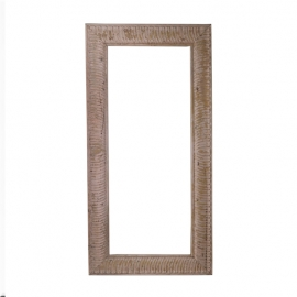 Rectangular lacquered wood frame