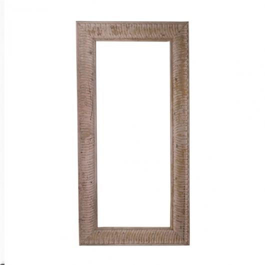 Cadre en bois laqué rectangulaire