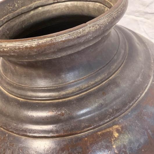 Jarre en laiton Népal XIXème S.