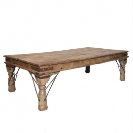 Table basse en rectangulaire en teck