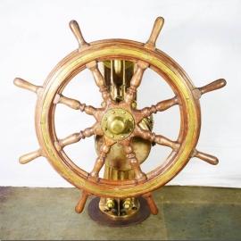 Barre à roue avec mécanisme en bronze