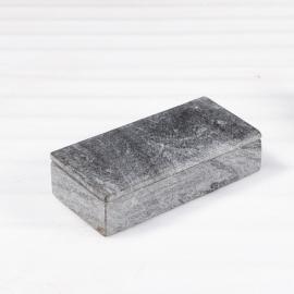 Boite rectangulaire en marbre gris