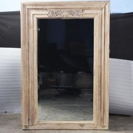Miroir rectangulaire en teck