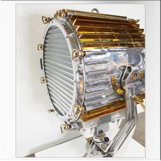 Phare de recherche en aluminium (Grand modèle)