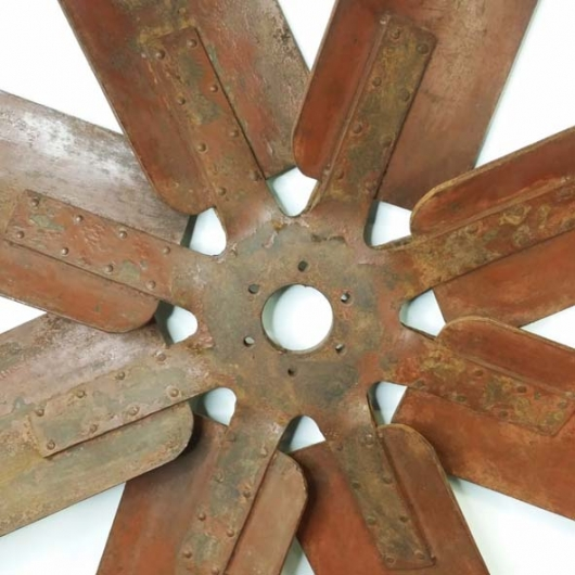 Hélice en fer de ventilateur d'usine