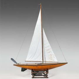 John Alexander, Maquette de bateau de bassin