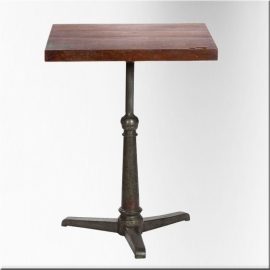 Square table iron feet